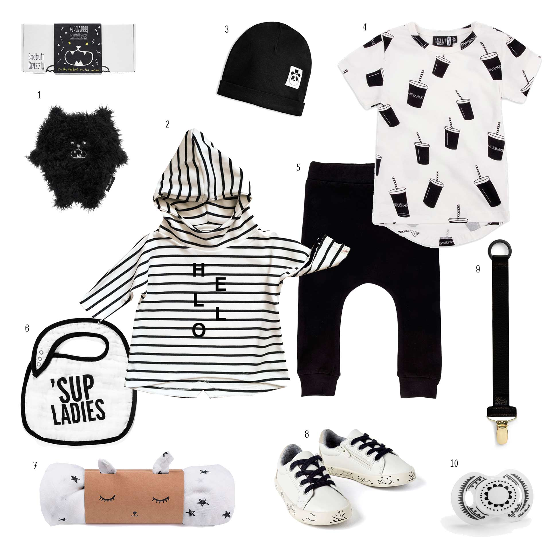 OUTFIT «B&W BABY» BY ME