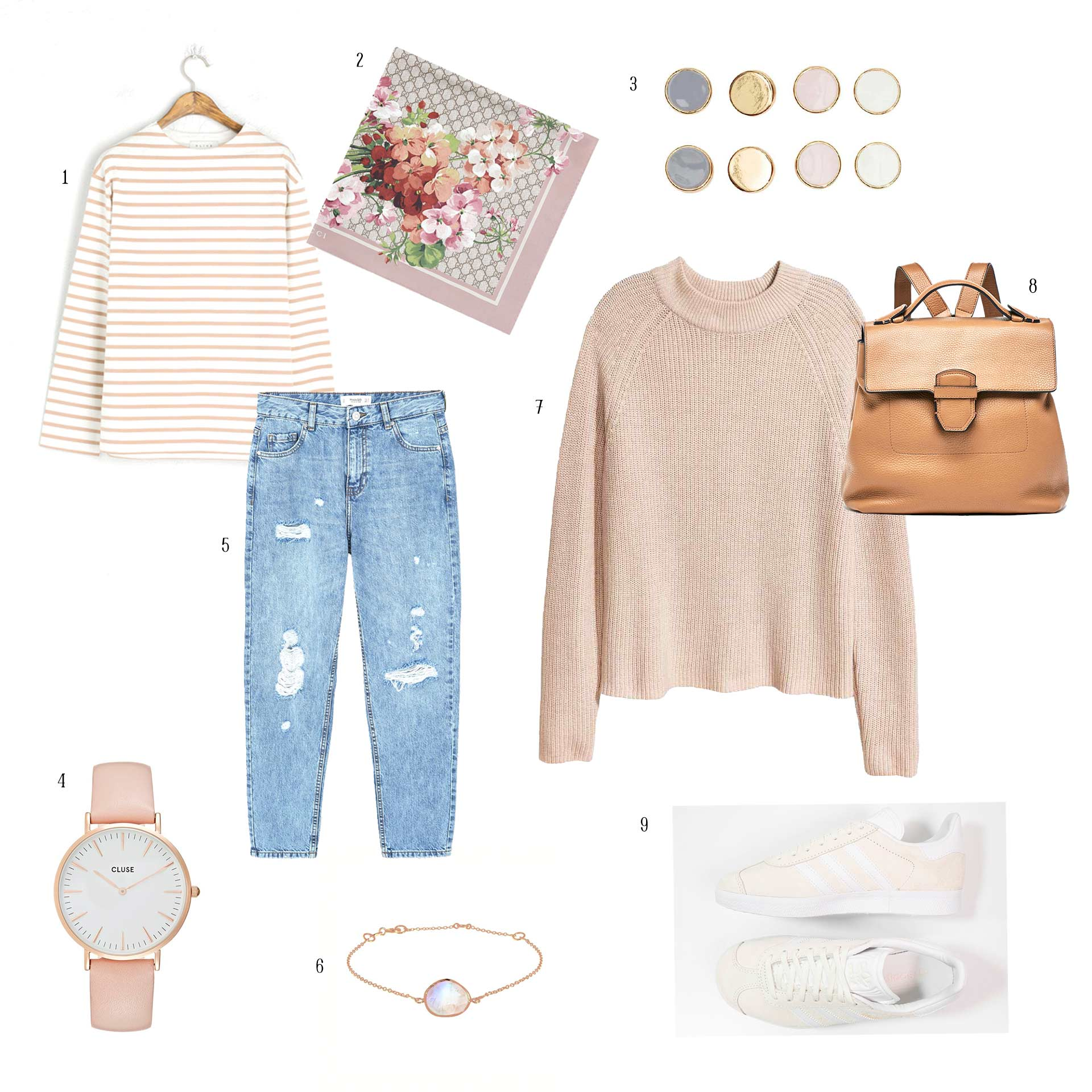 OUTFIT » CASUAL IN ROSE» BY ME