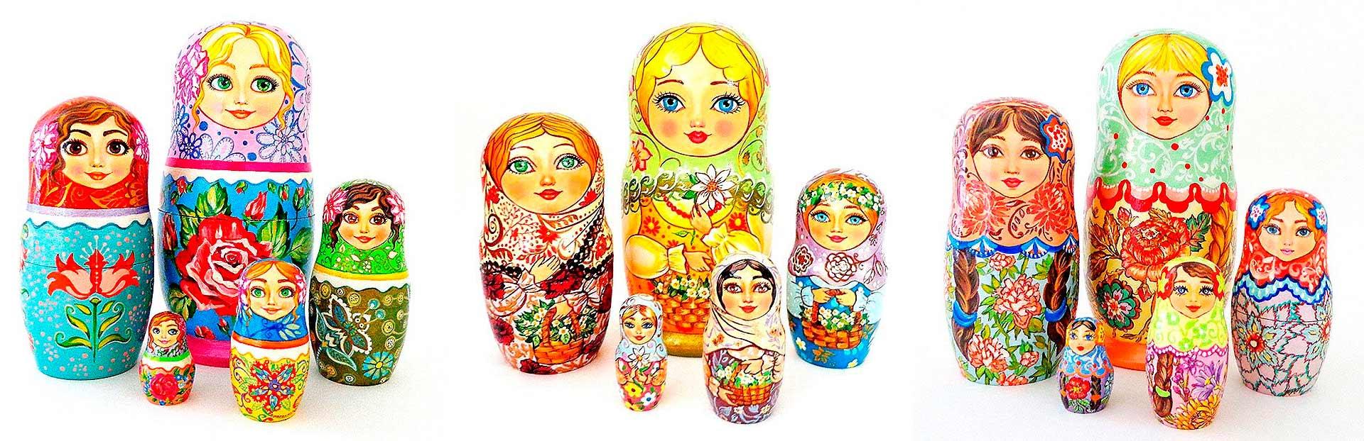 Muñecas rusas-matrioskas