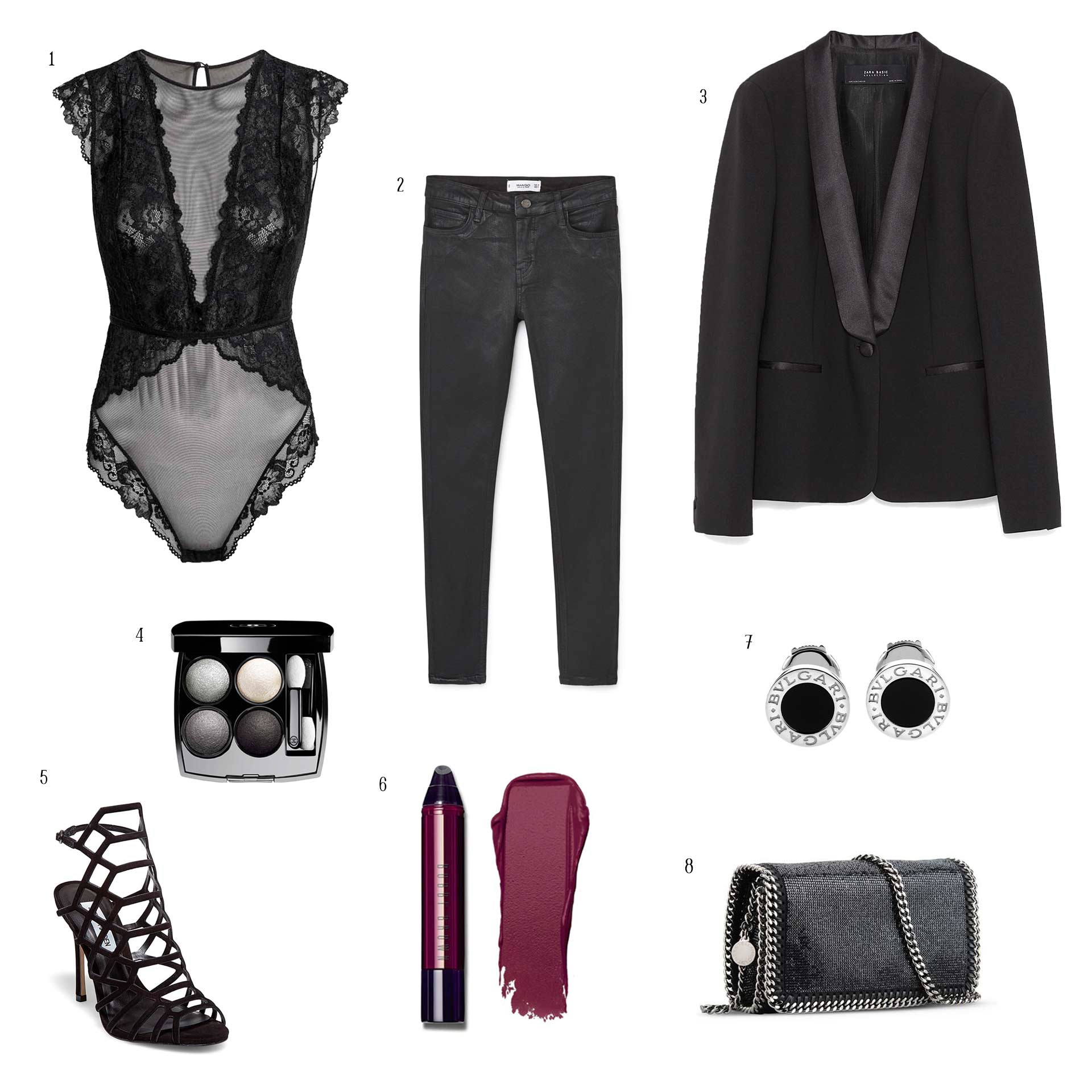 OUTFIT «BLACK IS BLACK» BY REALANDPARADISE