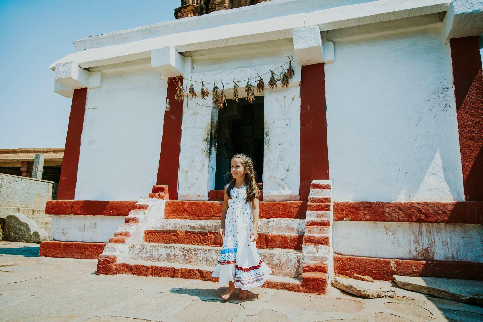 Visitando el templo de Bhoga Nandeeshwara